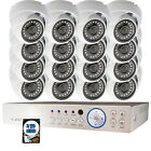16ch Channel DVR Business Office Security Camera System 2 TB HDD LCD Monitor