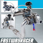 88-00 Civic EF EG EK 1.5L 1.6L D15 D16 D16Y SOHC T3 T3/T4 T04E Turbo Charger Kit