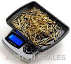 1000 x 0.1 GRAM DIGITAL POCKET SCALE GRAIN CARAT TROY OUNCE RELOAD COIN SILVER