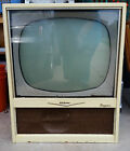 Antique Vintage 1950s RCA Victor TV w/ Logo Plate Pick-Up Only Oklahoma City OKC