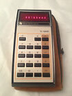 Rare Vintage Texas Instruments TI-1200 Calculator Nice   Working