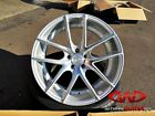 """18"""" Niche Targa Concave Silver Machined Wheels Altima Accord TSX Scion TC Rims"""