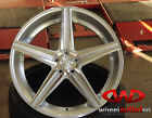 "20"" Niche M125 Apex Wheels Silver w/ Machine Finish TL CTS Accord RL VW CC"