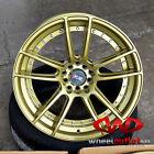 """18""""X8.75 XXR 969 Wheels Gold Black Finish  Honda Acura Suburu"""