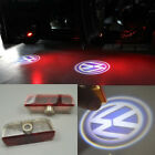 2x LED door step courtesy laser projector light For Volkswagen Golf GTI Jetta CC