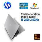 "HP 8460p Notebook Laptop 14"" / i5-2520m 2.40 GHz / 4 GB / 120 GB SSD / Windows 7"