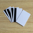 Magnetic Stripe Card CR80 Inkjet Printable Blank Hico 1-3 Plastic 30Mil - 10