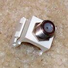 Pass & Seymour legrand F-81 (Coax) Keystone Module, Ivory/Light Almond