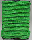 "Green Double Braided 1/8"" x 45' HQ Marine Boat UTILITY ROPE Line Tie Down Cord"