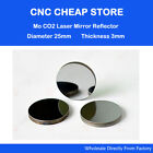 3×Co2 Laser Mo Reflective Reflector Mirrors Lens Diam 25mm Laser Engraver Cutter