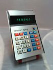 Vintage 1970's Unisonic 1040 Green LED Electronic Calculator w Case