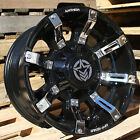 17x9 Gloss Black Anthem Defender 5x5 & 5x5.5 -12 Wheels Xtreme MT2 40 Tires