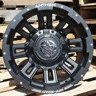 17x9 Matte Black Anthem Enforcer A722 6x135 & 6x5.5 -12 Wheels 305/65/17 Tires