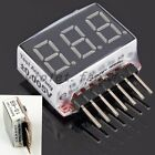Electric Battery Monitor Lithium Voltage Digital Display Model Check Fashion New