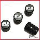 TOYOTA FJ CRUISER - Set Of 4 Lasered Logo Aluminium Tire Valve Caps