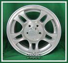 Aluminum Trailer Rim 15X6 Split Spoke 5 on 4.5 Center Cap & Lugnuts Set of 4