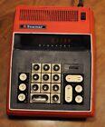 Vintage Bowmar 90422 Calculator - Red