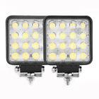 2x 48W Watt High Power LED Work Light spot Lamp ATV Ranger Offroad Tractor