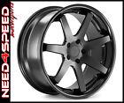 "20"" Ferrada FR1 Matte Black 20x9 20x10.5 Concave Wheels for Infiniti G37 Coupe"