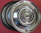 1956 Chrysler Windsor and Saratoga 15 Inch Hub Caps wheel Covers Lot Of 3 USA D