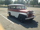 Willys 1956 willys wagon original 4 wheel drive no reserve