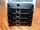 LOT FIVE (5) Crestron C2ENET-1 Single Port Ethernet Cards for PRO2 AV2