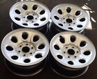 """17"""" 2007-2013 CHEVY AVALANCHE 1500 FACTORY OEM SILVER STEEL WHEELS RIMS"""