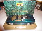 "Maisto Jaguar XJ220 Dark Green 332201 1:12 15"" Mint Die Cast 1992 Original Box"