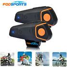 1200m Bluetooth Motorcycle Intercom interphone Earphone for Referee Judge/Biker