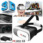 3D Glasses VR Box Headset Google Cardboard Virtual Reality For iPhone Samsung