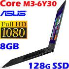 "ASUS Zenbook UX305CA 13.3"" Full HD Core M3-6Y30 8G 128G SSD Ultrabook Slim 10hrs"