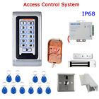Waterproof 396LBs  RFID ID Card Single-door Keypad Access Control Controller Kit