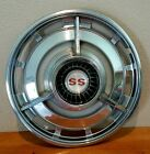 GM Chevy SS OEM Hubcaps Original Nice Condition For Age