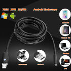 2 in 1 Android Windows Endoscope 7mm USB Waterproof Borescope Inspection Camera