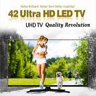 "TVEST - New 42"" E4200UHD ZB Real 4K UHD TV 60Hz 3840x2160 HDMI LED TV Monitor"