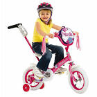 Girls 12 inch Schwinn Petunia Steerable Bike