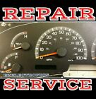 1999 to 2002 F150 F250 INSTRUMENT CLUSTER  REPAIR SERVICE   2000 2001