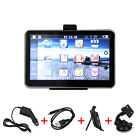 "5"" Car LCD Touch Screen 4GB/128RAM GPS Navigation Bluetooth MP3 W/Backup Camera"