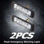 1pcs 2W Super Bright White 4-LED Flash Emergency Hazard Warning Strobe Light Bar