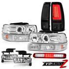 99-02 Silverado LT Tail Lights Headlamps Roof Cab Lamp Turn Signal Fog Tron Tube