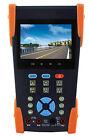 """3.5"""" CCTV IP Camera Tester Monitor IP Analog TVI Camera Testing Onvif PTZ 12V"""