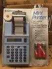 Vintage Sanyo Printing Calculator CX 3553 BRAND NEW STILL SEALED IN ORIGINAL BOX