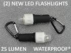 (2) Cruise Ship LED Personal Locator Flash Safety Light Beacon Waterproof