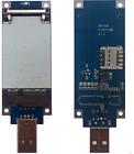 REYAX RYW2000 AT&T 4G LTE B2,4,5,7,17 Wi-Fi router mini PCIe SIM card holder