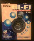 New In Box Coby CV-3000 Hi-Fi Digital Stereo Headphones