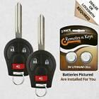 2 New Replacement Keyless Entry Remote Alarm Car Key Fob Control for CWTWB1U751