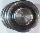 68-69 Cadillac Fleetwood Deville 15 Inch Wheel Covers Hub Cap's OEM Lot Of 4 D