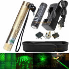 High Power Laser Pointer Green Light 5mw pen Adjustable Burning +Charger Battery