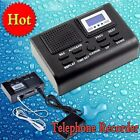 SD Card Slot Voice Recorder Mini Digital Telephone Call LCD Display Phone + 8GB