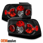 Fits 93-97 Toyota Corolla Black Altezza Tail Brake Lights Lamps Pair Left+Right